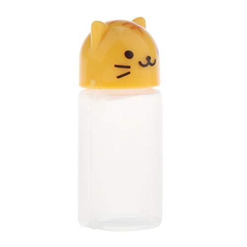 chiwanji Accesorios para Vasos de Bebida de Botella de Agua de Plástico en Miniatura de Casa de Muñecas a Escala 1: 6