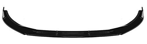 LLKLKL Frontspoiler Lippe Frontansatz Kompatibel mit Mercedes Benz W205 C-Class Sport 2019-2020,Glossy Black