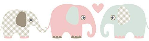 Lovely Label, Cenefa autoadhesiva, 450 x 11,5 cm, diseño de Animales con...