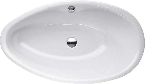 Bette Pool Oval Badewanne, 164x96x45 cm, 6050-, Farbe: Weiß mit BetteGlasur Plus