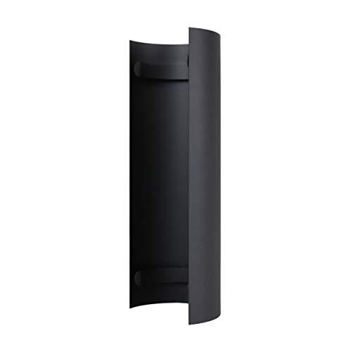 LANZZAS Tubo de estufa de protección contra el calor / placa térmica de 460 mm, para el diámetro DN 130 mm, color: gris hierro fundido – otros tubos de nuestra gama.