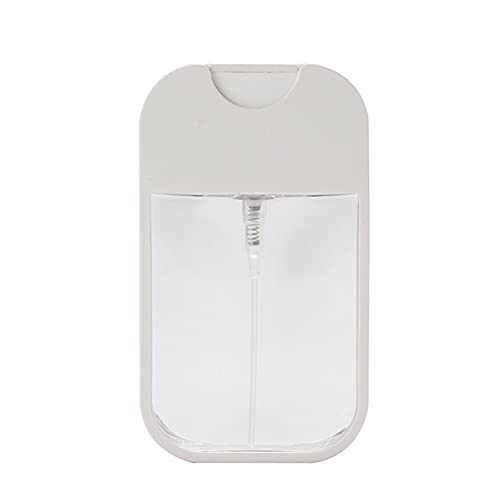 38ml Tarjeta Perfume Spray Botella duradera Plástico Cuadrado Hidratante Botella de mano portátil Mano de obra fina