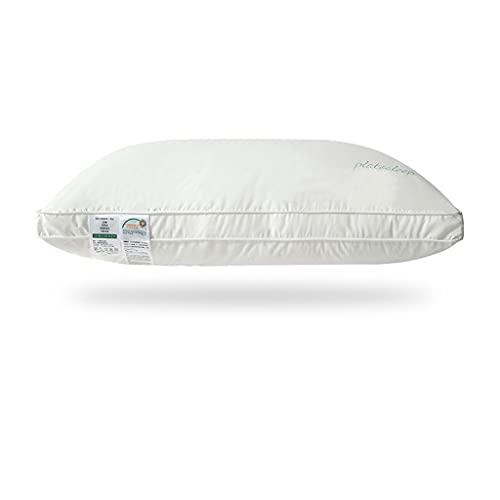 WXYPP Almohadas de algodón ayudan a Dormir y Suave llenado de Fibra de lujos (Size : Low Pillow)