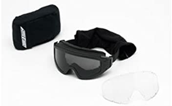 Clear Eye Safety Goggles Ski Paintball Wind Dust Anti-Fog OTG Over-the-Glasses