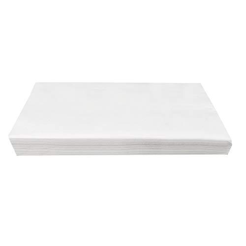 GmgodPapel higiénico, toallas de papel suave multipliegue con papel flexible de absorción rápida (A) Blanco
