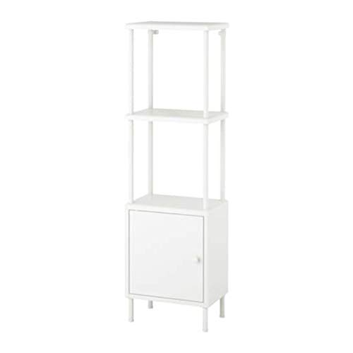 IKEA Regal Dynan mit Schrank weiß 091.833.97 Größe 15 3/4x10 5/8x52 3/4