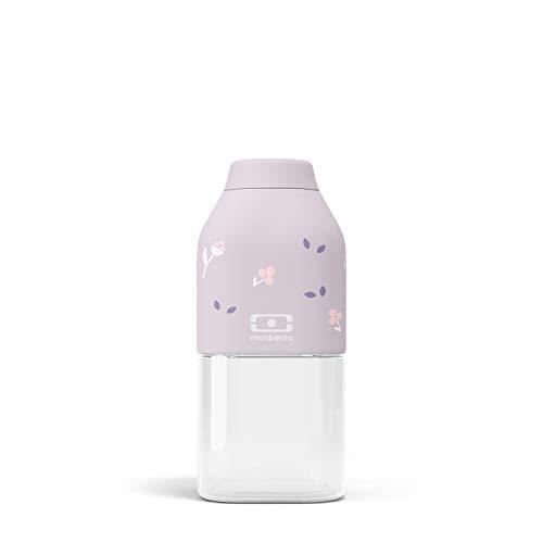 monbento - MB Positive S Violett Unicorn Trinkflasche Kinder bpa frei - 0,33 L - Tritan Trinkflasche