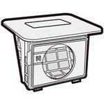 シャープ[SHARP] シャープ洗濯機用乾燥フィルター(210 337 0480) 【2103370480】