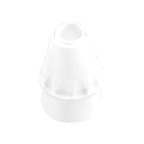 Dr. Oetker Universaladapter Kunststoff, Universaladapter aus der Tüllen-Manufaktur, Backzubehör zum Dekorieren und Verzieren (Farbe: weiß), Menge: 1 Stück