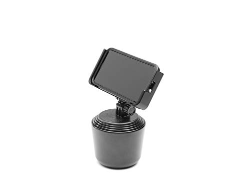 WeatherTech CupFone Two View Universal Cup Holder for Car Phone Automobile Cradle Compatible with iPhone and Cell Phones