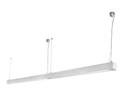 Ore 040405503 projecteur Barcelona-Pendentif (Ampoule incluse) LED 26 W Injecté gris Aluminium
