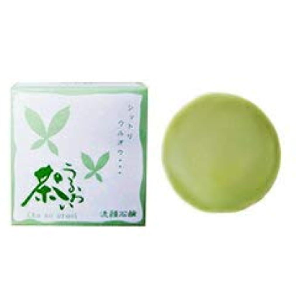 シーボード二十高度な【熊野油脂】茶のうるおい 洗顔 石鹸 100g