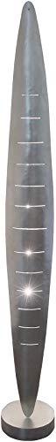 Daniele ijzeren vloerlamp in zilver | handwerk kwaliteit van Duitse makelij | vloerlamp modern dimbaar | lamp halogeen 12V ~ G4