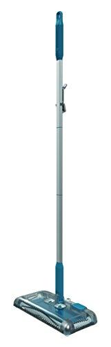 Black+Decker PSA115B-QW 3.6V, 1.5Ah Lithium Akku-Kehrbesen, Laufzeit 30 min, für kurzflorigen Teppiche und Hartböden, kabellos, beutelos, aufladbar, weiss, PSA115B, Acrylic, 300 milliliters, Blau - 2
