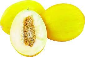 Honigmelonen frisch, saftig und süße große Frucht Stückverkauf