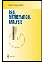 Real Mathematical Analysis (02) by Pugh, Charles Chapman [Hardcover (2002)]