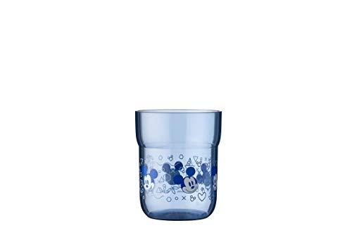 Mepal Mio – Kinderglas 250 ml – Mickey mouse– Trinkbecher für Kinder – bruchfest – spülmaschinengeeignet