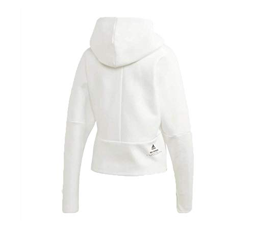 adidas Damen W ZNE Hd Sweatshirt, White, M
