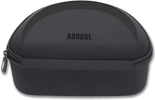 August BAG650 - Etui/Hülle / Tasche Bluetooth Kopfhörer und weitere wie Bose, Sony, Beats, Skullcandy etc. passend für August Kopfhörer EP765, EP750, EP735, EP650, EP640, EP636 und auch Bose QC35 usw.