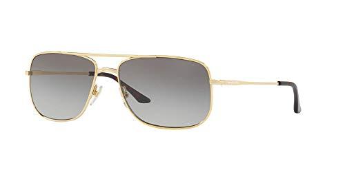 Sunglass Hut Collection men Sunglasses, Gold Lenses Metal Frame, 59mm