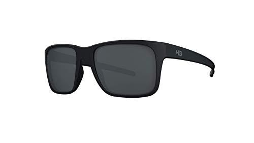 Óculos de sol H-Bomb 2.0 HB AdultoUnissex Preto Matte/ Cinza polarizado Único