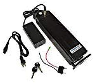 UE Sin impuestos envío 36V 13Ah Plata Peces ebike Paquete de baterías eléctricas con Cargador 2A Puede Trabajar en 500W Motor (Almacén alemán(AD) PXL-YY-36130-BK: Amazon.es: Deportes y aire libre