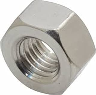 9//16-18 Finish Pattern Hex Jam Nuts 18-8 Stainless Steel Package Qty 25