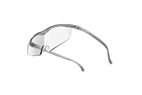 Hazuki ハズキルーペ 直営店 公式店 限定 倍率交換保証付き ラージ 1.85倍 クリアレンズ チタンカラー ハズキ 拡大鏡 ルーペ メガネ型 眼鏡型 めがね型 メガネ 眼鏡 めがね 日本製 MADE IN JAPAN ギフト