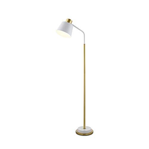 Lámpara De Pie Lámpara De Pie Moderna Lámparas De Pie para Sala De Estar con Pantalla para Oficina, Dormitorio Y Sala De Estar Lámpara De Pie (Color: Blanco)