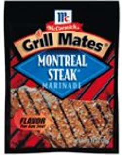 McCormick Montreal Steak Grill Mates Marinade Mix 0.71 oz (Pack of 12)
