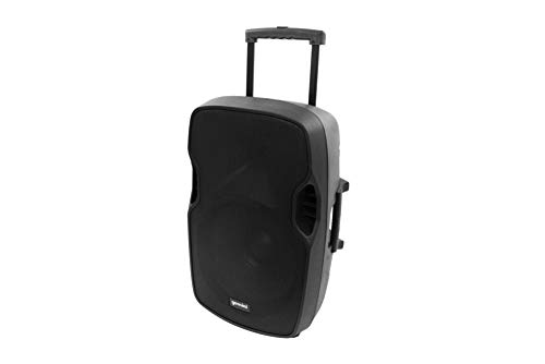 Gemini AS-TOGO Series AS-15TOGO Professional Audio Bluetooth 15-inch Battery Powered Portable PA Loudspeaker with 500W Class AB Amplifier