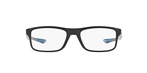 Oakley 0OX8081 Monturas de gafas, Polished Black, 53 Unisex