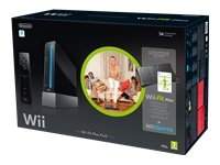 "Nintendo Wii ""Wii Fit Plus Pak\"" - Konsole inkl. Wii Sports, Wii Fit Plus, Balance Board + Remote Plus Controller, schwarz"