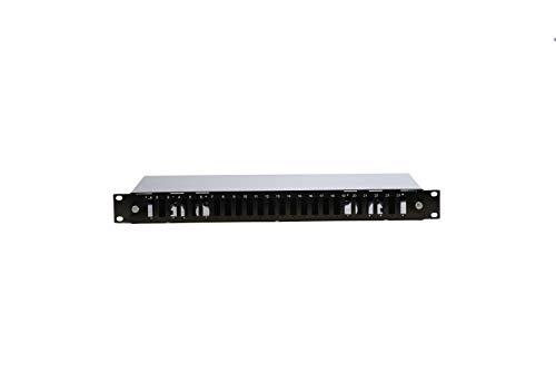 1U 19' 24 Port Fiber Optic Patch Panel SC DUBLEX