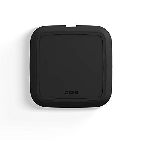 Zens draadloze oplader - Qi-oplader - Apple & Samsung Fast Charge - 10W - Zwart - voor Smartwatches, Earbuds & smartphones