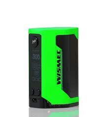 Wismec RX GEN3 300W TC Mod Akkuträger Farbe Grün