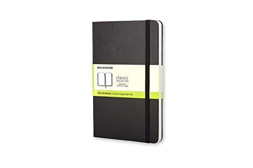 Caderno Clássico, Preto, Capa Dura, Sem Pauta, Tamanho Bolso (Classic Notebooks)