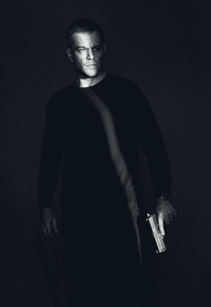Jason Bourne – Matt Damon – U.S Textless Movie Wall Poster Print - 43cm x 61cm / 17 Inches x 24 Inches A2