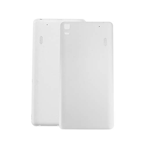 Teléfono móvil Accesorios de Repuesto For Lenovo K3 batería Cubierta Trasera (Negro) (Color : White)