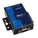 MOXA NPort 5130-1 Port Device Server, 10/100 Ethernet, RS-422/485, DB9 Male