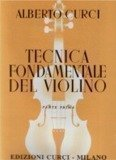 CURCI - Tecnica fondamentale del violino Parte I