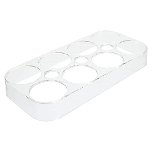 WEARRR contenedores de Almacenamiento Bandeja de Huevo de refrigerador Caja de Almacenamiento de Huevo práctico Contenedor de Almacenamiento de Huevos for el hogar contenedores de Almacenamiento