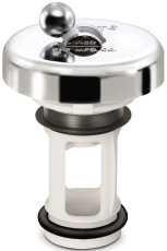 PPP GIDDS-124050 Flip-It Fit-All Bathroom Stopper, Chrome - 124050