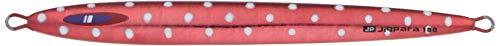 メジャークラフト メタルジグ ジグパラバーチカルロングスロー JPVLS-300#75 RED 300g