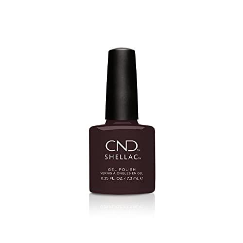 CND Shellac, Gel de manicura y pedicura (Tono Dark Dahlia) - 7.3 ml.