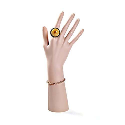 Deciniee Manichino a mano, modello per nail art decorativo a mano può mettere l'anello a mano, modello artificiale a mano può essere collocato nel negozio di gioielli e manicure.