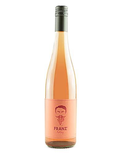 SCHORLEFRANZ® Rosewein Franz Rotling   Veganer Roséwein Lieblich & Fruchtig   Bacchus Made in Germany   Perfektes Wein Geschenk (12,5% Vol.) (0,75l)