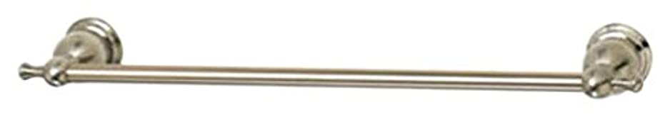 誰のグレードばかHomewerks 624074 Baypoint Nickel Swirll Towel Bar - 18 in.