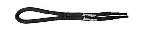 Navyline cordino per occhiali in neoprene con elastico, nero