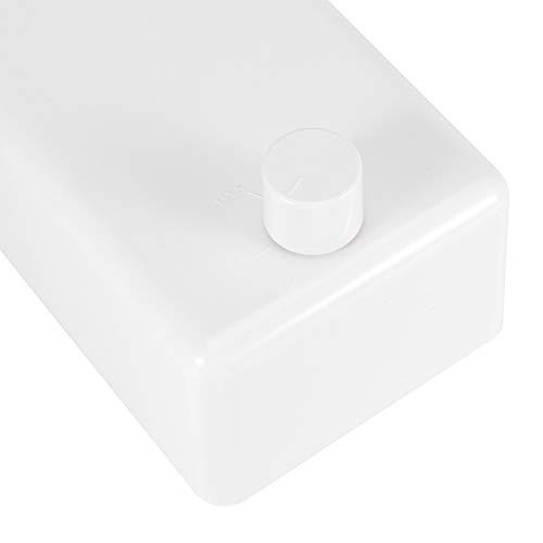01 Organizador de Secadora de Ropa retráctil, tendedero, para lavandería, baño de Cualquier Familia, balcón de Hotel y apartamento de Barco, bañera, Caravana(White-Single Rope)